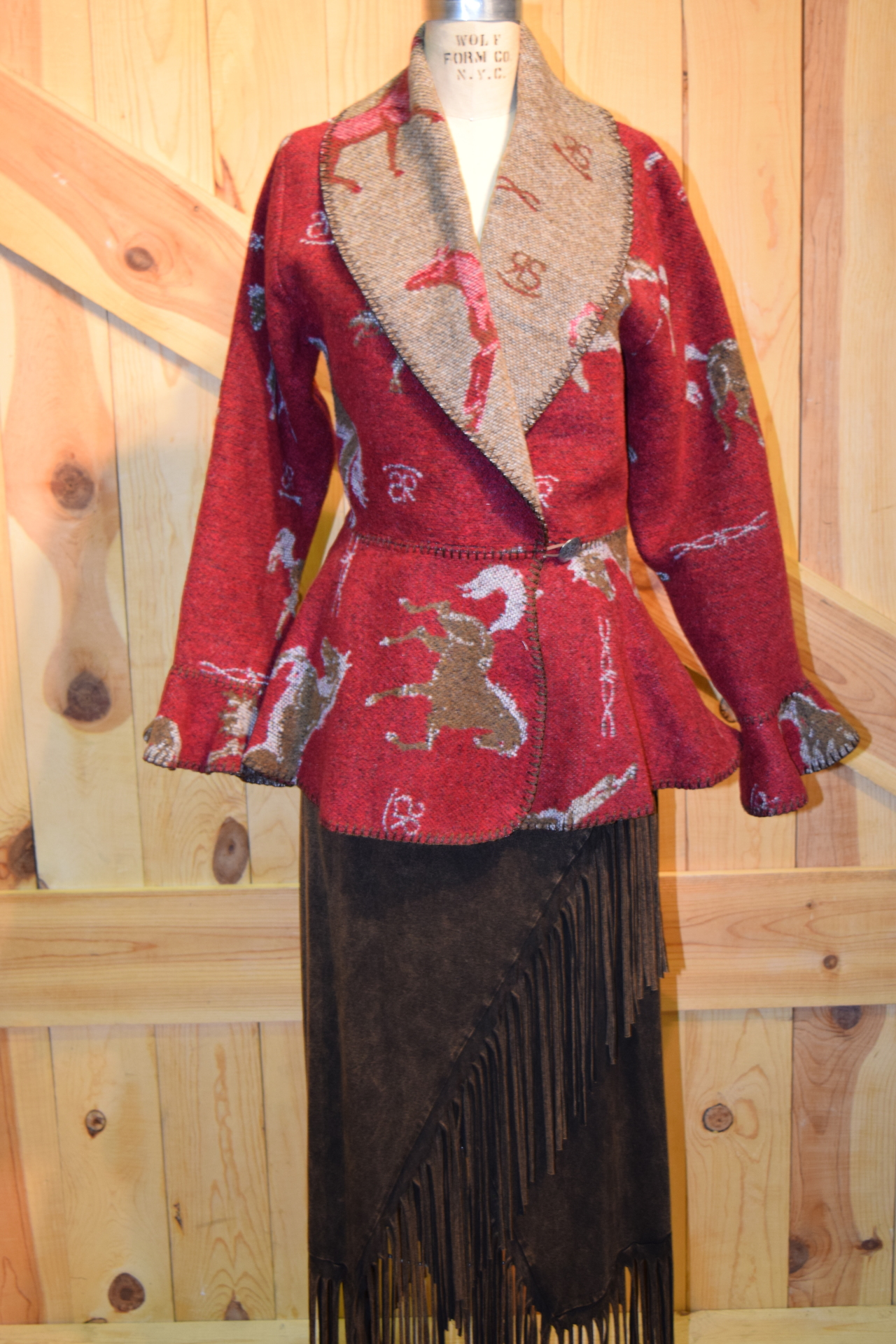 #845HBR - RED HORSE BRANDS FLOUNCE JACKET - $199.95